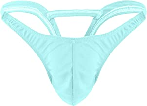 Fiaya Men Sexy G-String Lingerie Hollow Underwear T-Back Micro Thong Briefs