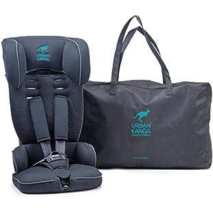 Urban Kanga Uptown Portable and Foldable Travel Car Seat Group 1 | 9-18 Kg (Black)