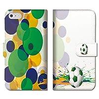chatte noir iPhone12pro ケース iPhone 12プロ ケース 手帳型ケース 手帳型 おしゃれ サッカー サッカーボール ブラジル 部活 かっこいい B 手帳ケース