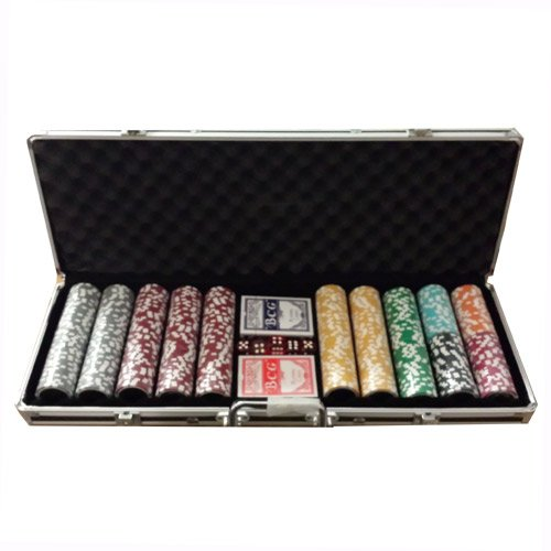 Set poker completo 500 Fiches All In 14 gr. low stake