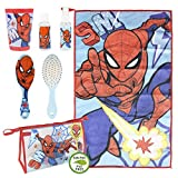 Cerdá Neceser Set Aseo/viaje, Trousse Toilette/Voyage Spiderman Mixte Enfant, Multicolore, 7.0 X...