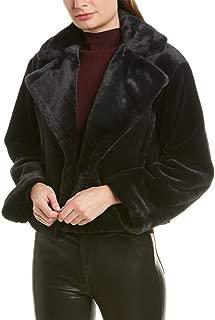 Womens Plush Coat, M