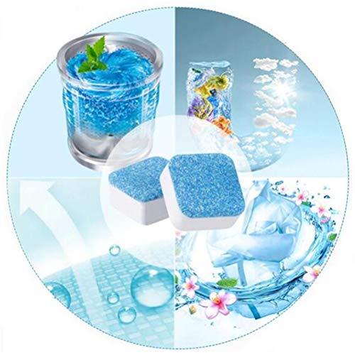 FuYouTa Pastillas detergentes para lavadora Detergente desincrustante y detergente para lavadoras y lavavajillas. Detergente y desincrustante para lavavajillas 2 / 12pcs