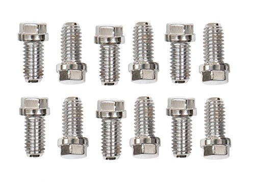 Mr. Gasket Stainless Steel Header Bolts, 3/8-16X3/4 12Pc