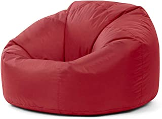 relaxing chair bean bag waterproof large size red color