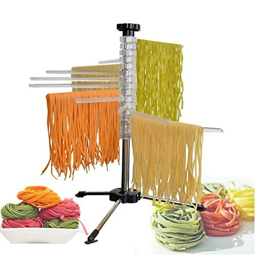 Oulensy Cocina Casera De Fideos Secado Panel De Seguridad del Material del Espagueti Titular Rotativo del Soporte De Pasta Secador De Herramientas De Cocina