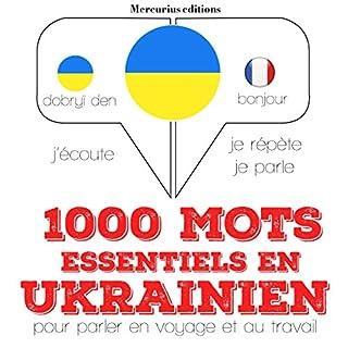 Couverture de 1000 mots essentiels en ukrainien