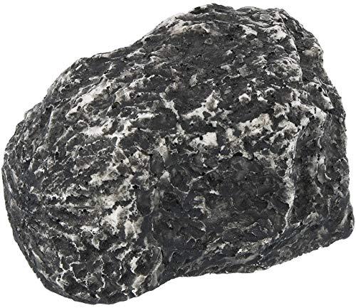 com-four® Piedra Clave para Guardar Las Llaves - Piedra con Compartimento Secreto - Ocultación de la Llave en Piedra óptica - Piedra esconder Llaves (1 Pieza - Grande)