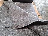 25 m² Teichvlies 1000g/m² Schutzvlies Folienschutz Teichfolie Vlies Teich 2 m Breite x 12,50 m 3,89 Euro/m²