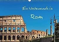 Ein Wochenende in Rom (Wandkalender 2022 DIN A3 quer): Ein Spaziergang durch die historische Altstadt der italienischen Hauptstadt Rom (Monatskalender, 14 Seiten )