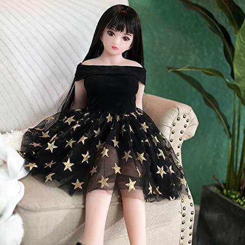 MINU Katze Masturbation Erwachsene Erotik Sex Produkte Männlich Masturbation TPE Sex Puppe Junges Mädchen Liebespuppe 88cm, Privater Transport
