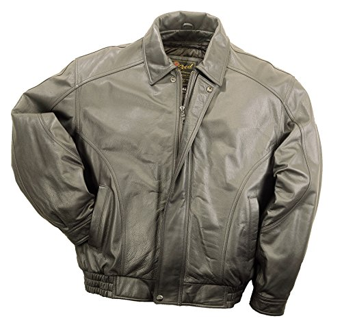 Brown Leather Jacket Men's Style