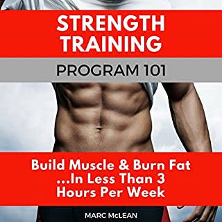 Strength Training Program 101 audiobook cover art