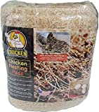 Chicken Nesting Pads with Aromatic Nest Herbs | Natural Excelsior Aspen Fiber Poultry Bedding | 13 x 13 Inches | Pack of 10