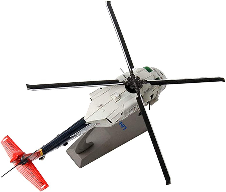 FLAMEER In Scala 1 72 AH-64A Elicottero Apache Aeroplani Collezionismo Home Decor - Grigio