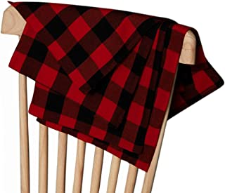 Cotton Buffalo Checkered Placemat 12x18 Inches Buffalo Plaid Placemat Tabletop Collection for Dinners, Parties, Picnics, S...