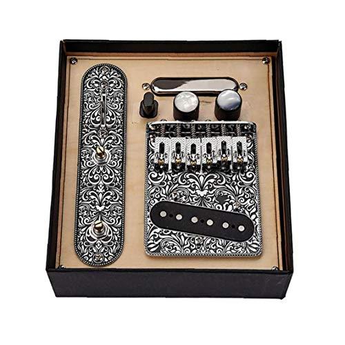 Aiyrchin Guitarra Pastillas Set 6 Cuerdas de una Silla Pasarela de mástil...