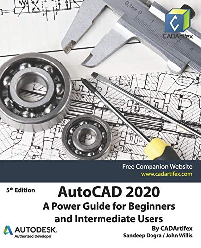 AutoCAD 2020: A Power Guide for Beginners and Intermediate Users