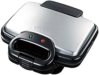 Vitantonio ワッフル&ホットサンドベーカー [ 焼き型2種付き / ブラック ] VWH-200-K