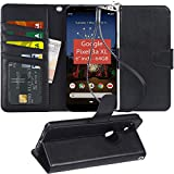 Pixel 3A XL Case, Arae PU Leather Wallet case for Google Pixel 3A...