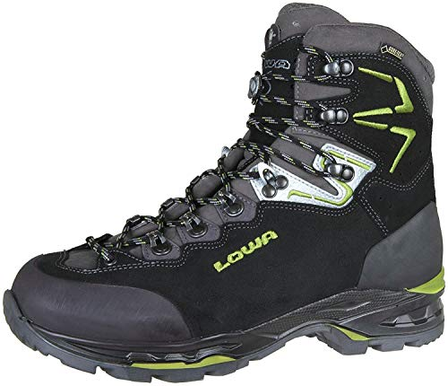 Lowa 210693/9974, Chaussures Basses pour Homme - - Noir/Vert, 9.5