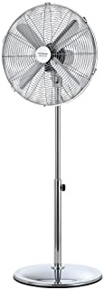 Cecotec Staande ventilator EnergySilence 580 RetroStyle. 60 W, 4 messen 40 cm diameter, oscillerend, 3 snelheden, verstelb...