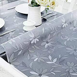 YUANGH Waterproof Oilproof PVC Placemat Soft Glass Tablecloth Tea Table Mat(Transparent 1mm) ZHUHX Thermometer (Color : Co...