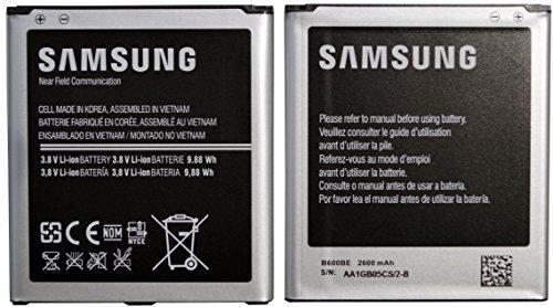 Samsung Galaxy S4 Akku - i9500 i9505 B600BE 2600mAh 3.8V Lithiumionen (Akku 1)