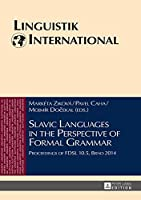 Slavic Languages in the Perspective of Formal Grammar: Proceedings of FDSL 10.5, BRNO 2014 (Linguistik International)