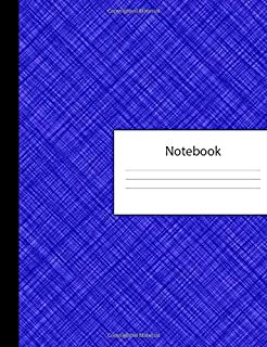 Notebook: 300 Page Pitman Shorthand Ruled Lined Steno Crosshatch Blue Composition Shorthand Writing Pad & Teeline Journal | Lists Office Meeting ... Organizer for College University | Notepad