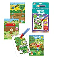 Galt Toys, Water Magic - Farm, Colouring Book for Children, Ages 3 Years Plus