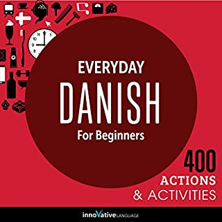 Everyday Danish for Beginners - 400 Actions & Activities cover art