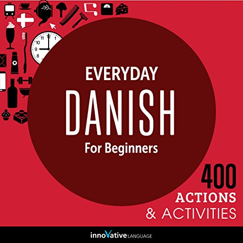 Everyday Danish for Beginners - 400 Actions & Activities Titelbild