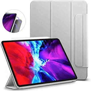 "ESR Rebound Magnetic Smart Case for iPad Pro 12.9"" 2020 & 2018, Convenient Magnetic Attachment [Supports Apple Pencil Pair..."