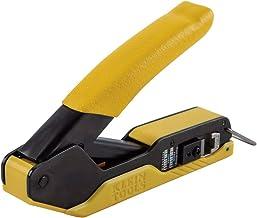 Klein Tools VDV226-005 Compact Modular Data Cable Crimper, for Pass-Thru RJ45 Connectors
