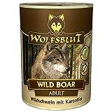 Wolfsblut Wild Boar - Comida húmeda para perros con jabalí y patatas, 6 x 200 g