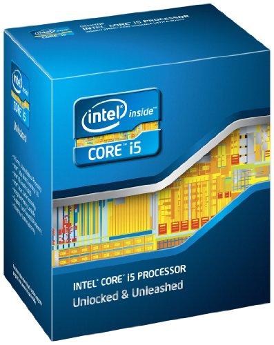 Intel Quad Core Box Prozessor (Intel Core i5-2500K, 3,3GHz, 6MB Cache, 1155 Sockel)
