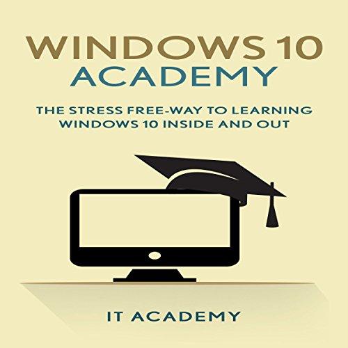 Windows 10 Academy audiobook cover art