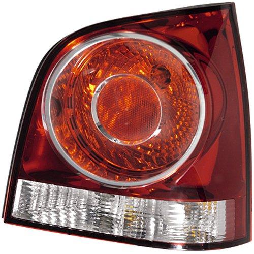 HELLA achterlicht Vw Polo 9N 10/01-01/12 Links glashelder, rood