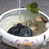 Bomba de fuente solar, bomba de agua solar círculo Fuente flotante para estanques de pájaros al aire libre Piscina Piscina Tanque de pescado Ciclismo Ciclismo Jardín Decoración (Tamaño : 1.4w)