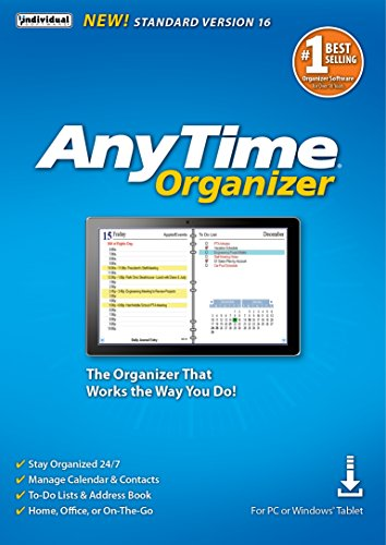 AnyTime Organizer Standard 16 - Free 30-Day Trial [PC Download]
