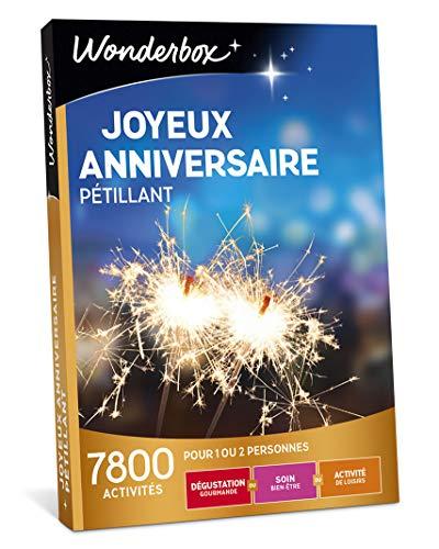 Wonderbox - Coffret cadeau anniversaire - JOYEUX...