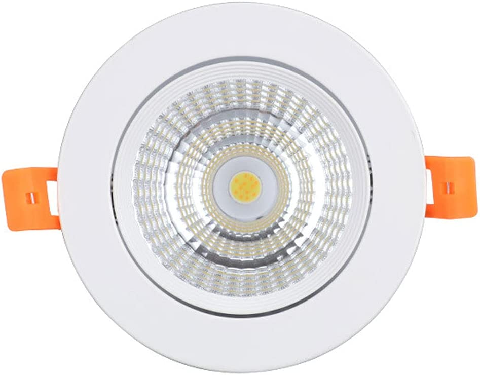 SDUYTEG famous Fort Worth Mall Three-Color Dimmable LED Lighting Recessed Canister Ligh