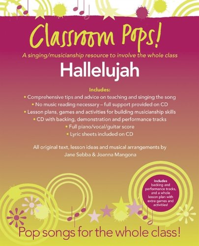 Classroom Pops! Hallelujah: Noten, CD für Gesang