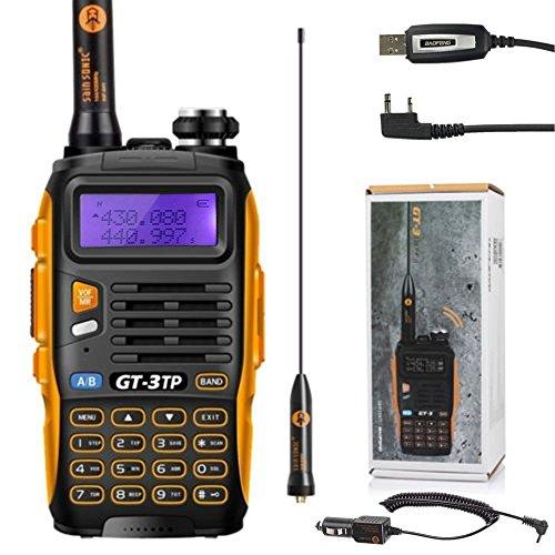 Walkie-Talkie radio Baofeng 3GT de 3Mark II UHF/VHF 2m / 70cm, dual band, Walkie Talkie PMR + cable USB