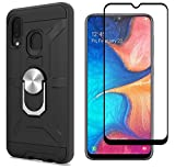 Cuoqing Samsung Galaxy A40 Case, With 1 Screen Protector,