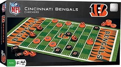 MasterPieces NFL Cincinnati Bengals Checkers