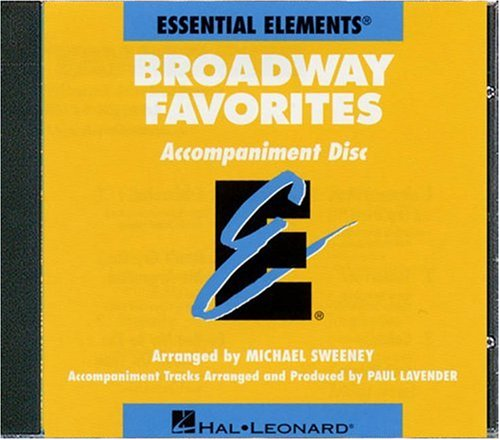 Essential Elements Broadway Favorites - CD Accompaniment
