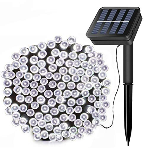Solar String Lights, 72ft 200 LED Outdoor String Solar Powered Fairy Lights...