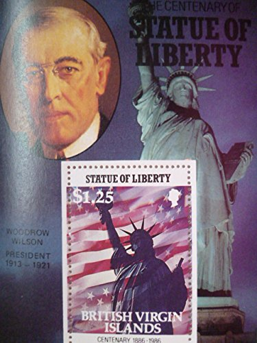 英領バージン諸島『自由の女神100周年/アメリカ歴代大統領』(ウィルソン)